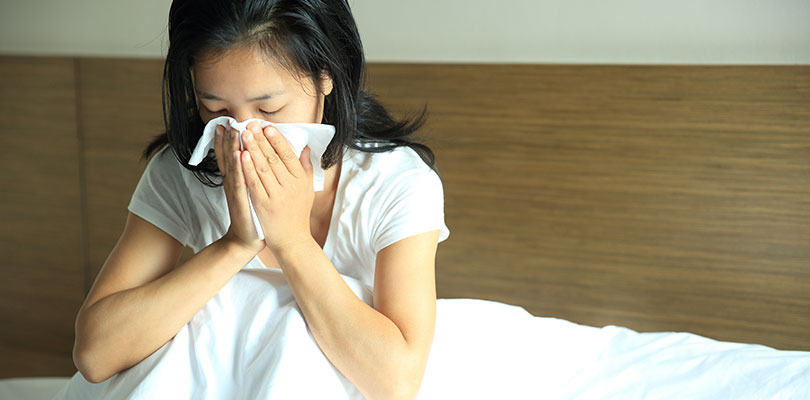 The Virus Can Only Be Passed by Sneezing or Coughing