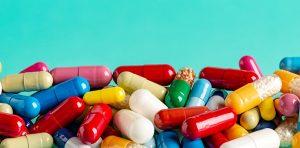 An assortment of pills